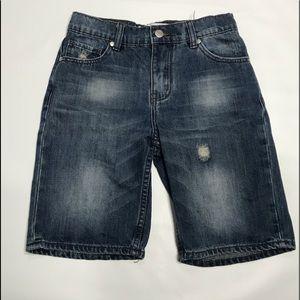 Just Jeans Denim Zipper Fly Boy Shorts Size 10
